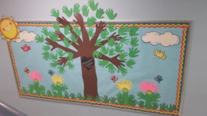 Kindergarten kindness Tree (Start with Hello)
