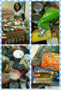 KLE Food Drive for the Homeless